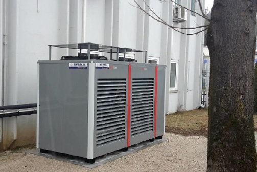 40 kW heat pump for NZEB compliance