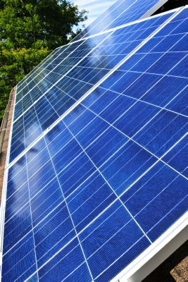 Solar Panels provide NZEB Compliance
