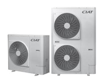 Toshiba CIAT heat pumps