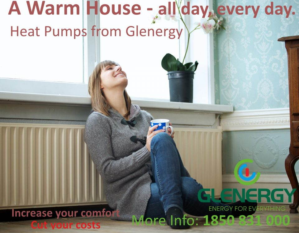 heat pumps warm a house