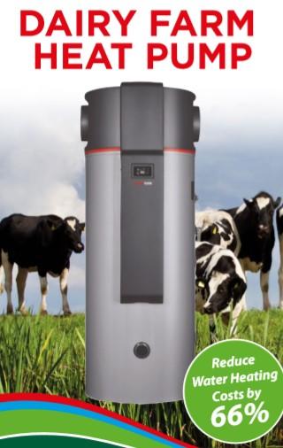 Dairy Farm Heat Pump